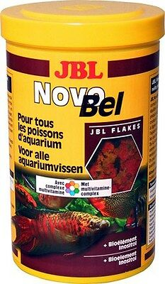 JBL NovoBel Tropical Aquarium Fish Food 190g