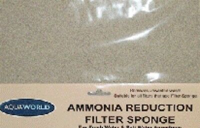 44 x 10cm Aquaworld Ammonia Reduction Filter Sponge