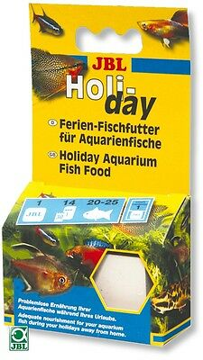 JBL Holiday Tropical Fish Food Block - Lasts up to 2 Weeks