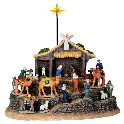 Village Bethlehem Lemax Christmas Village Table Accent - New For 2016