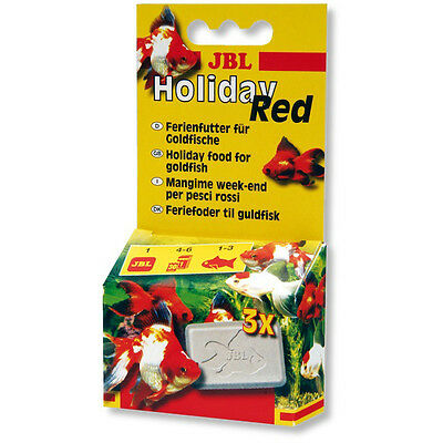 JBL Holiday Red - Goldfish Food Block