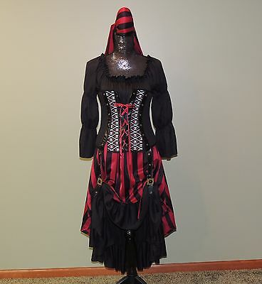 Pirate Wench California Halloween Costume Adult Large