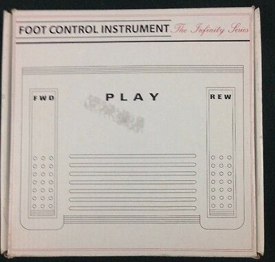 Infinity Series IN-USB-1 Dictation Foot Control Instrument