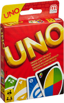 110-3) Mattel Uno Card Game Mattel New & Original Packaging Game