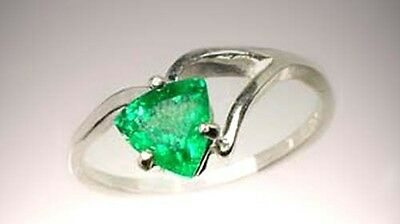 1ct Tsavorite Kilimanjaro Ancient Hebrew Jewish Talisman Danger Approach Warning