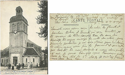 CPA Carrache postcard Church L'Eglise NAVARRENX 64 Nouvelle Aquitaine [210 R]
