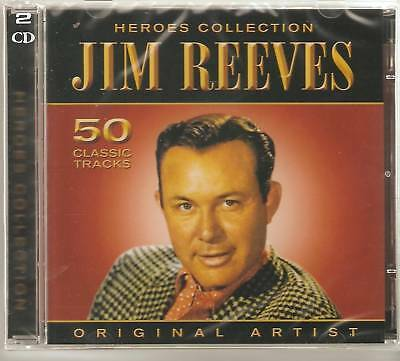 Jim Reeves Heroes Collection 2 Cd Set - Wind Up Doll , Bimbo & More