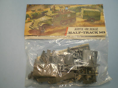 Airfix # A13 Half-Track M3 Personnel Carrier First edition Bag kit 1966