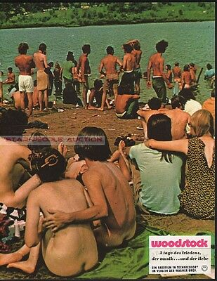 MICHAEL WADLEIGH - WOODSTOCK 970 * RARE LOBBY CARD! sexy naked