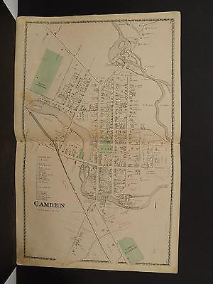 NEW YORK, ONEIDA County Map, 1874 Town of Deerfield, Double ... on camden palisades map, camden new jersey map, camden new york library, camden new york 20s, camden ny tax maps, camden new york schools, camden oneida county new york, camden new york in snow, camden baltimore map, battle of york map, camden arkansas map, camden ny houses, camden maine map, old forge ny google map,