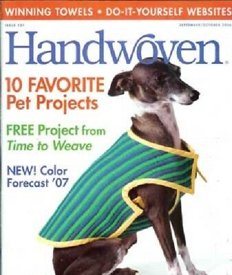 Handwoven magazine sept/oct 2006 - PET PROJECTS, TOWELS
