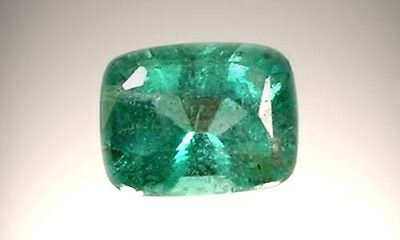 19thC Antique ½ct Siberian Emerald Medieval Chastity Honesty Intelligence Danger