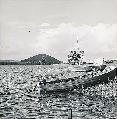 ULLSWATER LAKE c. 1950 - Barque Voilier au Bord du Lac  Angleterre - Div 5521
