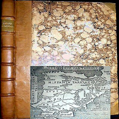 1543 History Achievements Julius Caesar Folio Maps Roman Empire War Military $$$