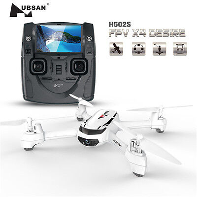 Hubsan X4 H502S Drone 5.8G FPV With 720P Camera GPS Follow Me Mode RC Quadcopter