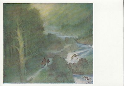 Post Card - Indian Painting (14) / Indische Malerei