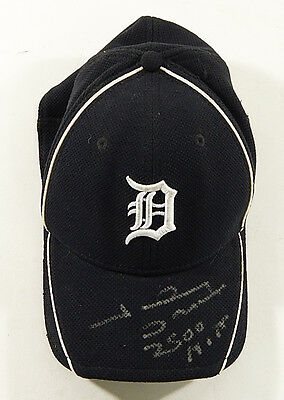 Johnny Damon Signed Detroit Tigers Baseball Hat Autograph