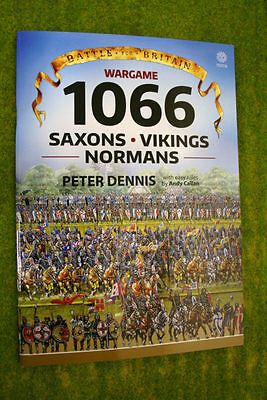 WARGAME 1066 SAXONS – VIKINGS – NORMANS Paper Soldiers Peter Dennis & Andy Ca...