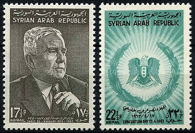 Syria 1963 SG#807-8 Evacuation Of Foreign Troops MNH Set #D33837