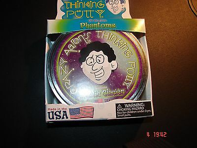 CRAZY AARON'S THINKING PUTTY - MYSTIC GLACIER  Large tin