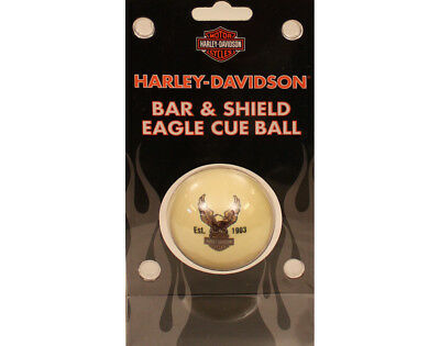 Harley-Davidson Bar & Shield Eagle Pool/Billiard Cue Ball