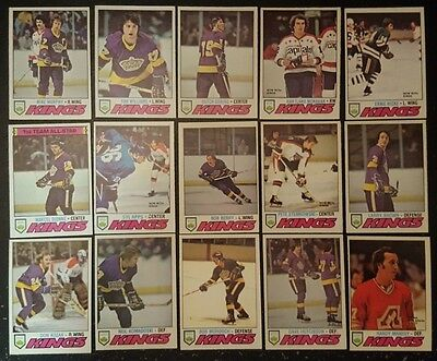 1977-78 OPC LOS ANGELES KINGS Select from LIST NHL HOCKEY CARDS O-PEE-CHEE