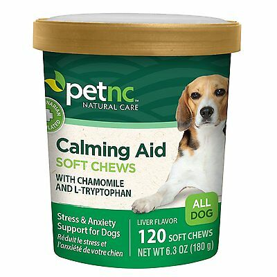 PetNC Natural Care Calming Aid for Dogs 6.3 Oz
