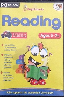 Reading Brightsparks PC CD Ages 5-7+