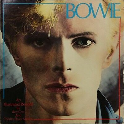 Bowie An Illustrated Record  RARE OOP ORIG 1981 Discography / Biography EXC Book