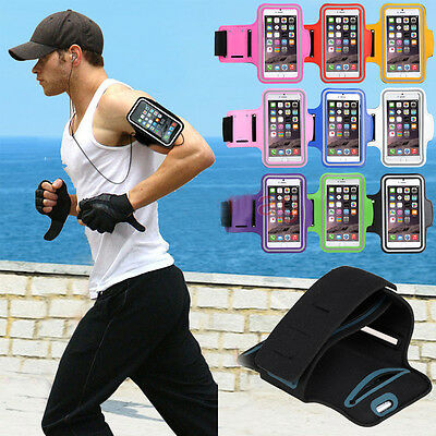 For iPhone 7/7 Plus Sports Gym Armband Cover Jog Cycling Running Arm Holder Case