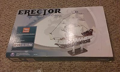 *CONTENTS SEALED* Erector Set Special Edition Pirate Ship Meccano Building  Kit