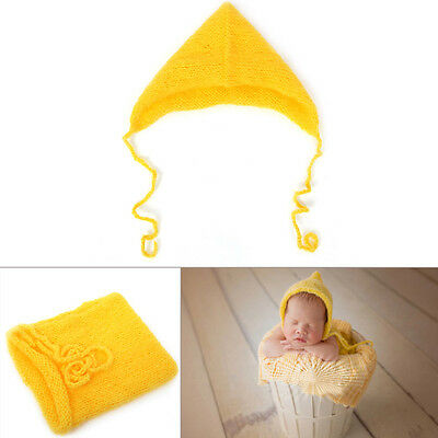 Newborn Baby Girls Boys Crochet Knit Hat Costume Prop Outfits Photo Photography