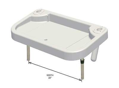 Oceansouth Heavy Duty Extra Large Bait Board - Integrated Sink and Rod Holders -