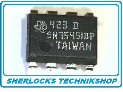 IC SN75451BP Dual Very-High Speed, High-Current Peripheral Drivers DIP8