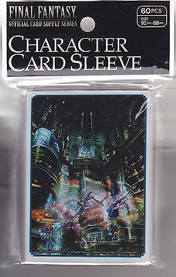 Final Fantasy Card Game Official Sleeve FF X-III-2  A  (60) 92mm x 66mm Japanese
