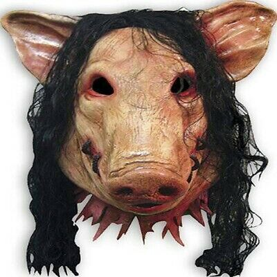 Halloween Maske Fasching Karneval Kostüm horror Party Schwein Gruselige Saw!