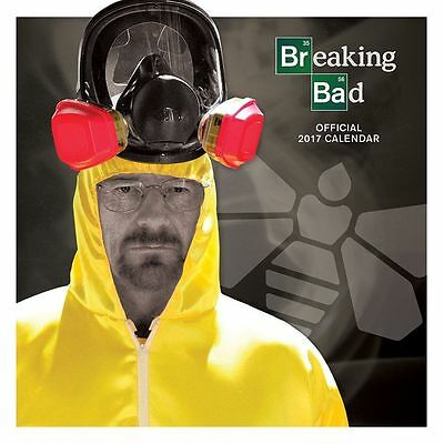 Breaking Bad 2017 Calendar - Breaking Bad Official Licensed Calender 2017