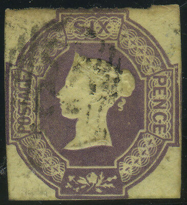 SG 59 6d dull lilac, good lightly used cut-square example, Cat £1000, reasonably