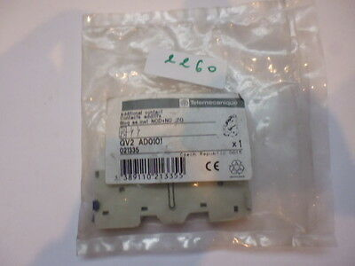 GV2-AD0101 TELEMECANIQUE bloc contacts auxiliaires auxiliary switches 021335
