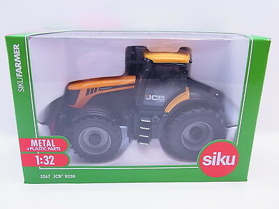 LOT 36120 | Siku Farmer 3267 JCB 8250 Traktor Trecker 1:32 NEU in OVP Mängel