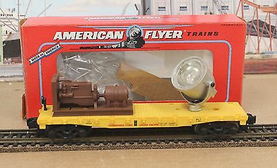American Flyer 6-49003 Lionel S UP Union Pacifc Searchlight Car 1991 USA LNIB