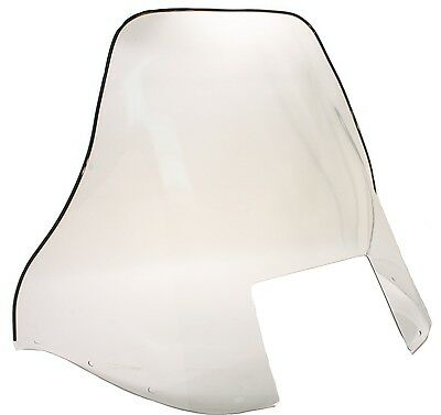 """Polaris Indy Lite 340, 1991-1998, 16"""" Clear Windshield - GT, Touring"""