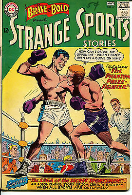 STRANGE SPORTS STORIES - No. 47, April - May 1963 Comic Book