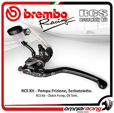 Brembo Racing Kit Radial Clutch Pump RCS 19 + Tank Oil + Support Master Cylinder
