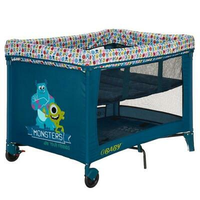 Obaby Disney Bassinette Travel Cot (Monsters Inc) with Mattress - RRP £99.99