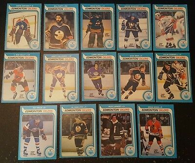 1979-80 OPC EDMONTON OILERS Select from LIST NHL HOCKEY CARDS O-PEE-CHEE