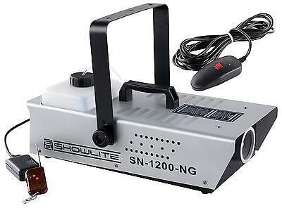 DJ PA PRO NEBELMASCHINE CLUB NEBEL EFFEKT SMOKE MACHINE FOGGER REMOTE 350m³/MIN