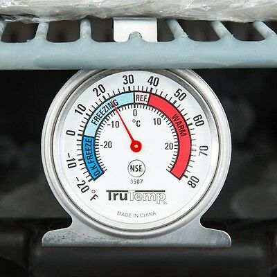 """Taylor 3507 TruTemp Refrigerator Freezer Thermometer, 2.5"""" Dial & -20 to 80°F"""