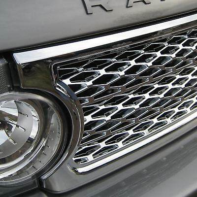 Chrome Supercharged front grille for Range Rover L322 Vogue 2005-09 MkIII parts