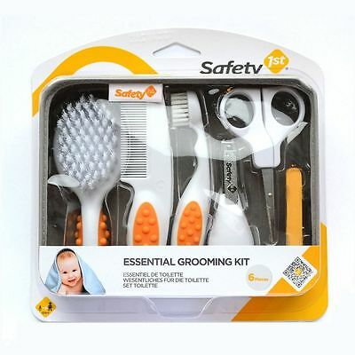 Safety 1st Essential Grooming Kit for Baby & Toddler (6 Piece Set and Case)